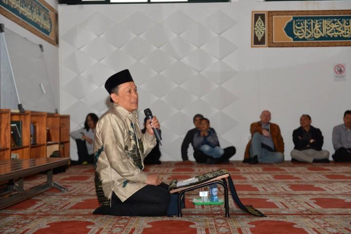Acara 16 April 2017 di Mesjid Al Hikmah Stichting Indahnya Sedekah Nederland