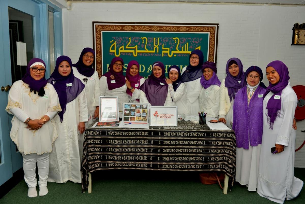Acara 23 Oktober 2016 di Mesjid Al Hikmah