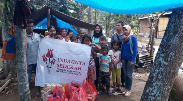Peduli Gempa Lombok NTB Stichting Indahnya Sedekah Nederland